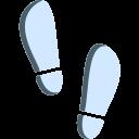icono huellas