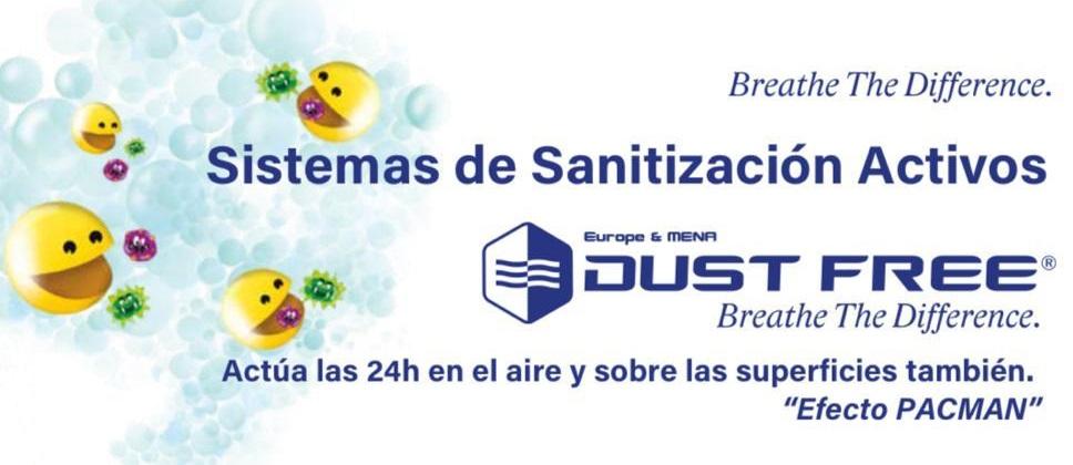 Sistemas de Sanitización Activos Dust Free
